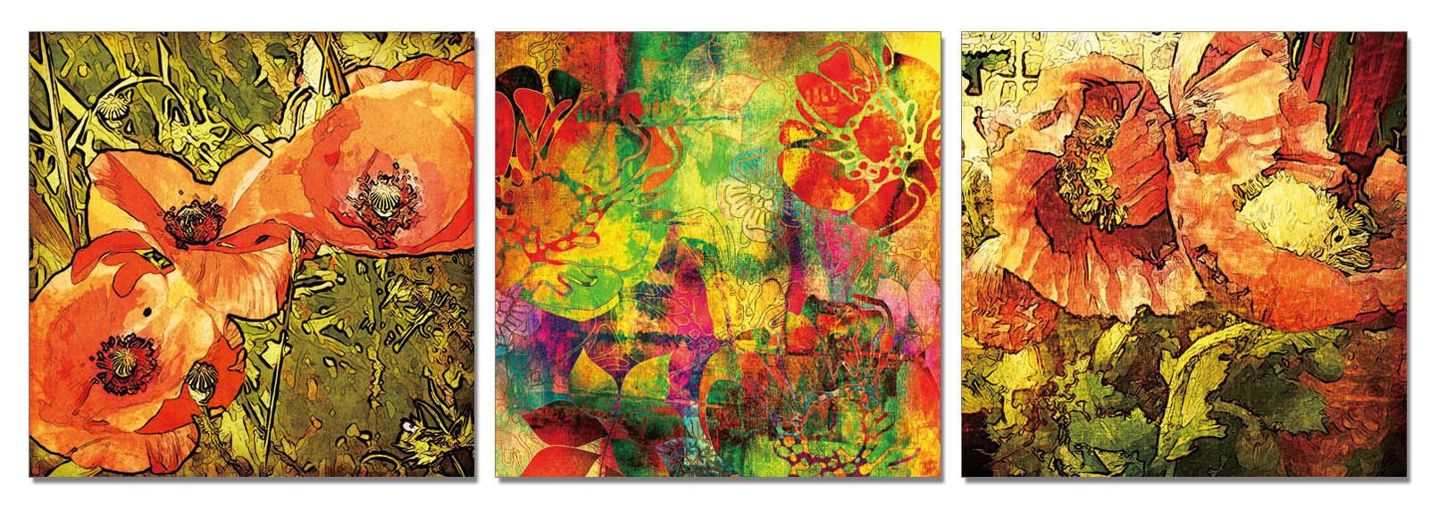 聚鯨Cetacea﹡Art【花樣TB-5086ABC印製畫】無框畫 裝飾畫 居家裝飾 商業空間