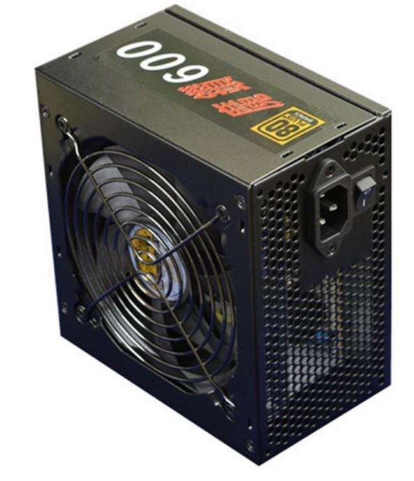 【迪特軍3C】YAMA 魔鑽 600W 銅牌 電源供應器 3大1小 , 6 SATA