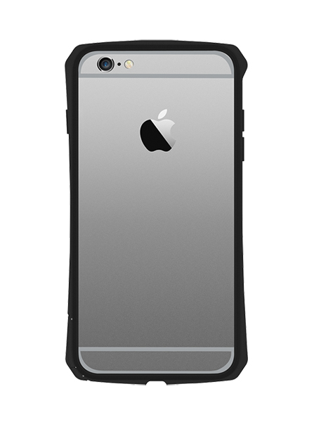 SEIDIO TETRA? 極簡金屬吸震保護框 for Apple iPhone 6 Plus 5.5 - 黑