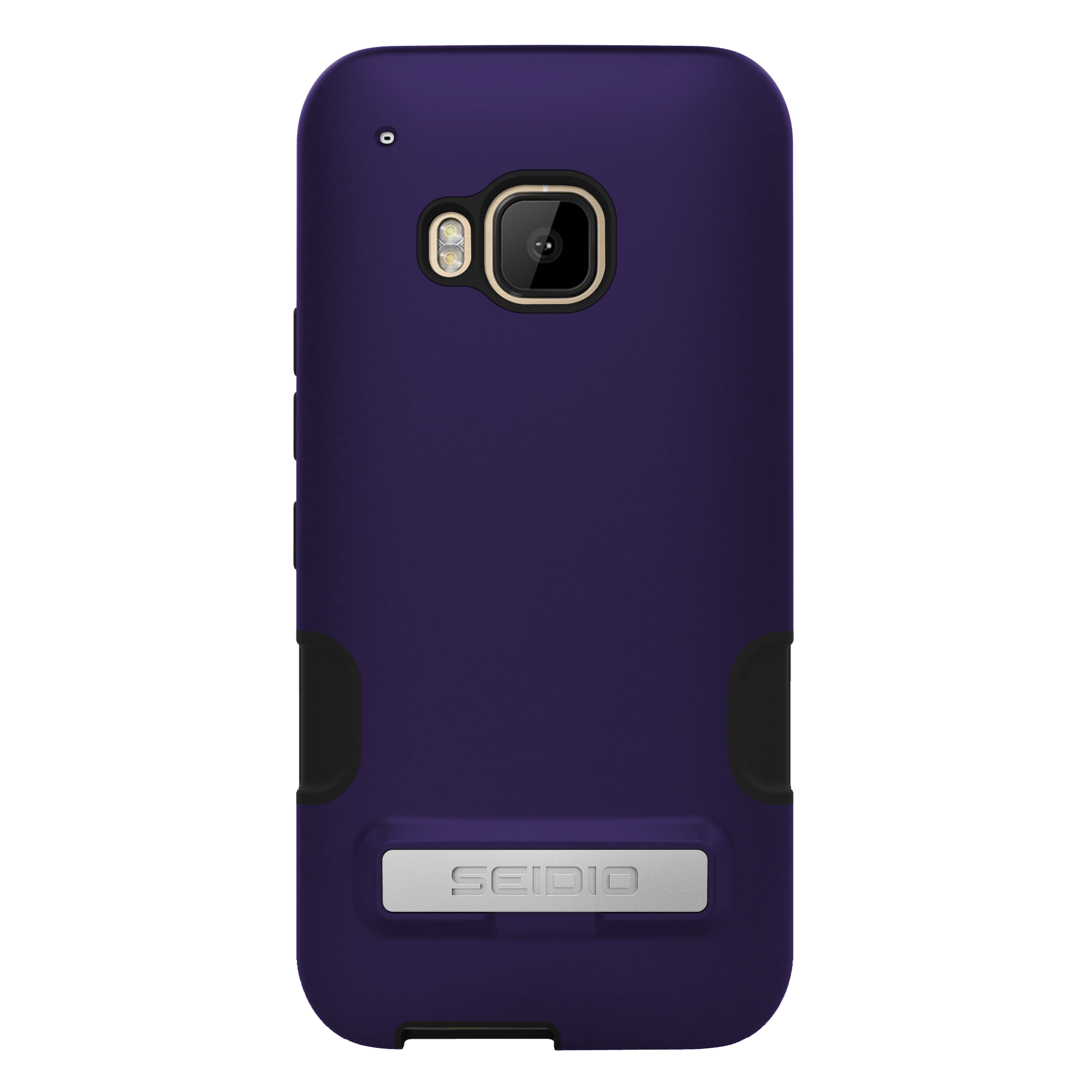 SEIDIO DILEX? PRO 金屬支架保護殼 for HTC One M9 - 浪漫紫