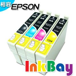 EPSON T1771(黑)/T1772(藍)/T1773(紅)/T1774(黃) (no.177)相容墨水匣(一黑三彩) /適用機型:EPSON XP-30/XP-102/XP-202/XP-302..