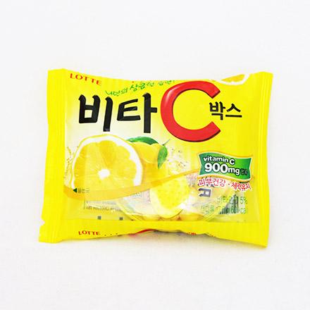 【敵富朗超巿】樂天VITA C檸檬糖