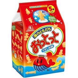 森永五袋小魚鹹味餅90g