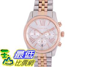 [COSCO代購如果沒搶到鄭重道歉] Michael Kors Lexington 系列三色錶帶石英計時女錶 W953986