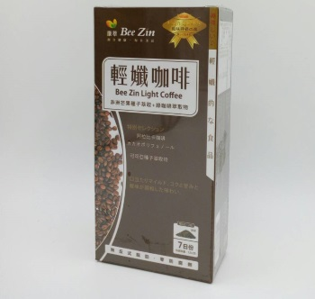 【小資屋】BeeZin康萃美活輕孅PLUS咖啡 榛果口味(7包/盒)效期:2018.10