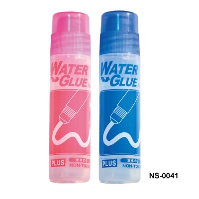 【普樂士 PLUS 膠水】 NS-0041 50c.c 棉頭膠水/合成膠水/合成糊