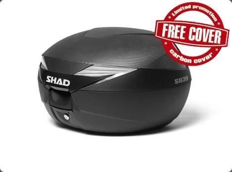 兩輪車舖 -西班牙 SHAD SH39 時尚機車專用行李箱