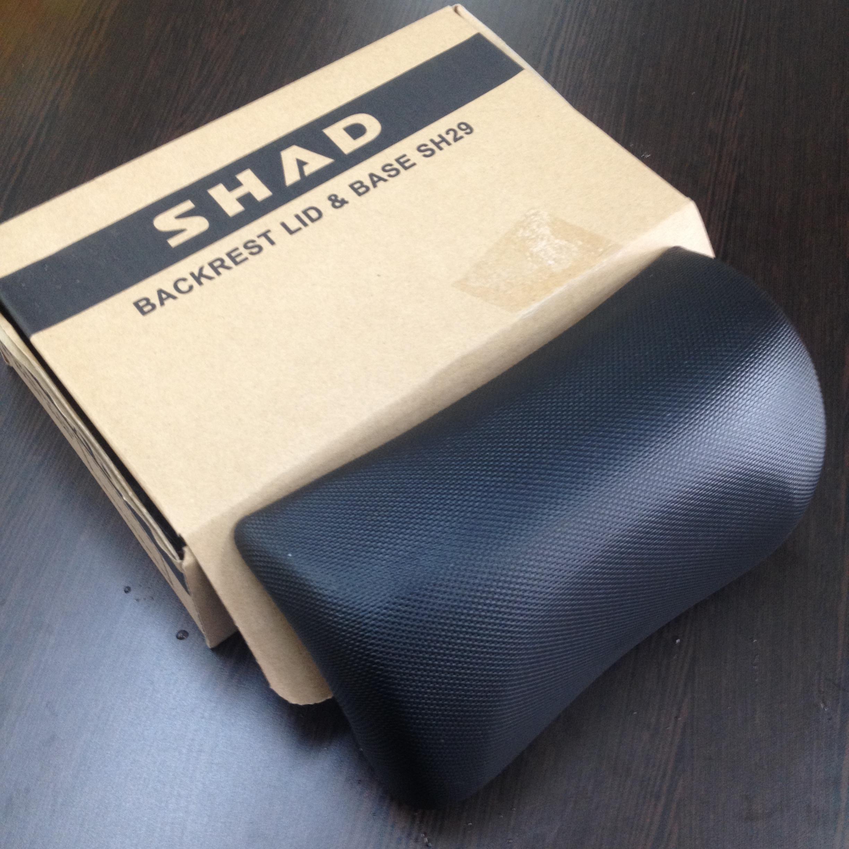 兩輪車舖 -西班牙 SHAD SH29/33 時尚機車專用行李箱-靠背