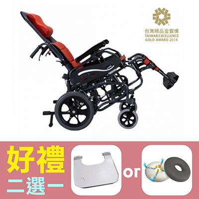 【康揚】空中傾倒型輪椅仰樂多515(KM-1520.3T) ~ 超值好禮2選1