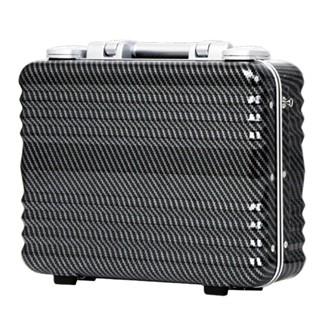 日本 LEGEND WALKER 6204-42-16吋 德國拜耳PC公事登機箱 碳纖黑
