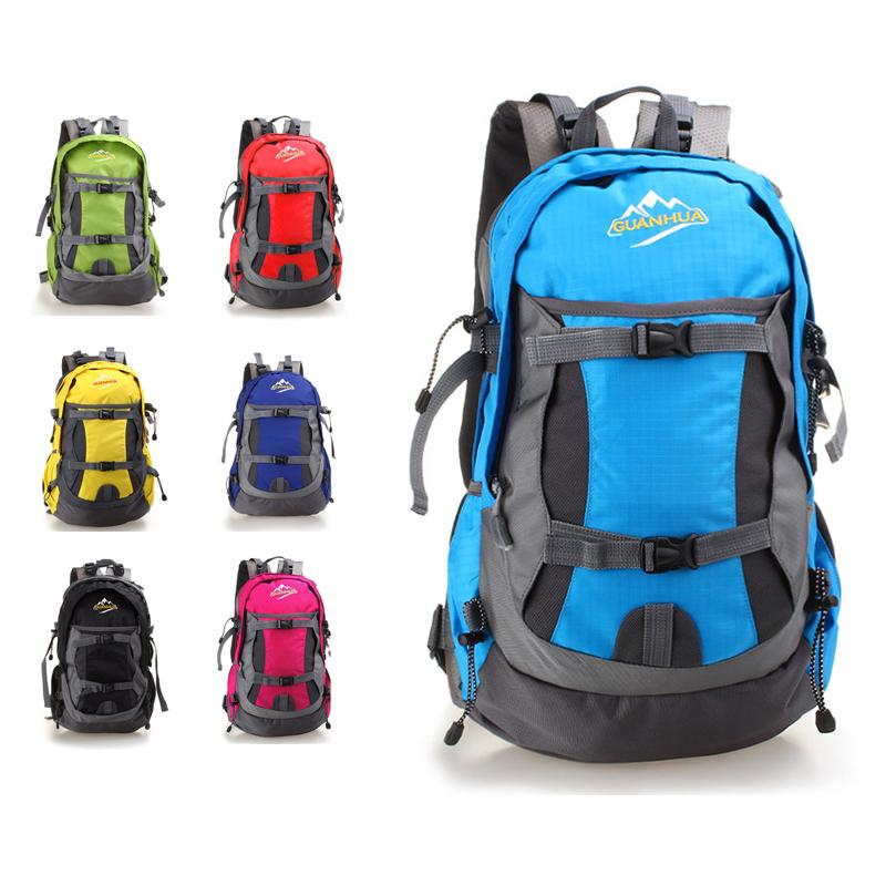 戶外登山包35L戶外旅遊包尼龍防水男女戶後背包/單售