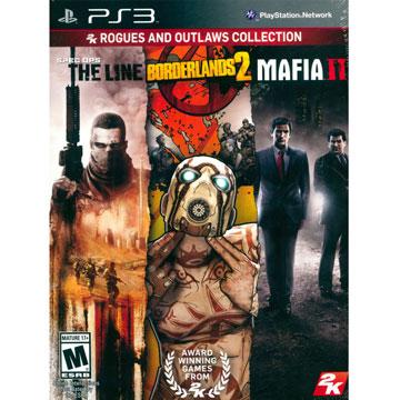 PS3 2K精選三合一合輯 2 英文美版(內含邊綠禁地2、特種戰線、四海兄弟) PS3 2K Rogues and Outlaws Collection