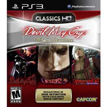 PS3 DMC 惡魔獵人HD三合一高畫質合輯 英文美版 DEVIL MAY CRY