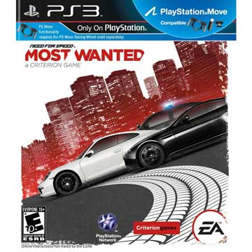 PS3 極速快感:新全民公敵 英文美版 NEED FOR SPEED MOST WEANTED