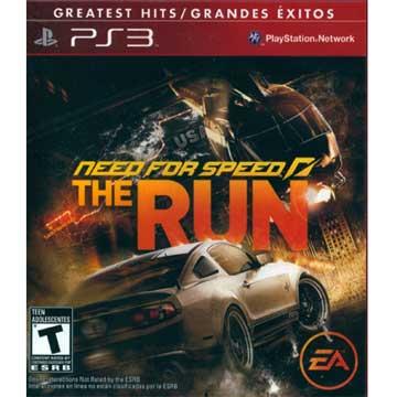 PS3極速快感:亡命天涯 英文美版 (Need for Speed: The Run )紅盒