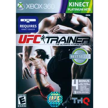 XBOX360 UFC 終極格鬥王者:私人教練 英文美版( UFC Personal Trainer ) KINECT