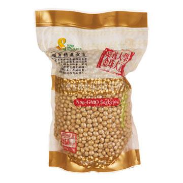 《茂喜》台灣在地優質商品-台灣金珠非基因改造黃豆550g/包