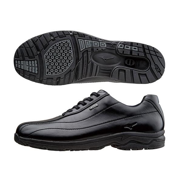 B1GC141509(黑)日本大人氣防水GORE-TEX 寬楦健走鞋 WAVE LD40 III a【美津濃MIZUNO】
