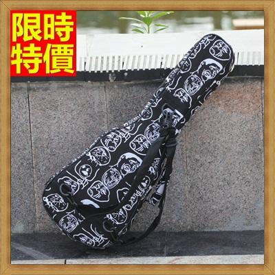 烏克麗麗包 ukulele琴包配件-23吋爆走漫畫圖案加厚帆布手提背包保護袋琴袋琴套69y14【獨家進口】【米蘭精品】