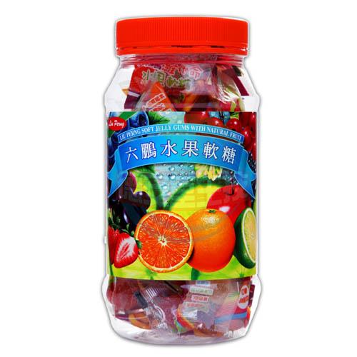 六鵬維他命水果軟糖(80gm±3%)x1