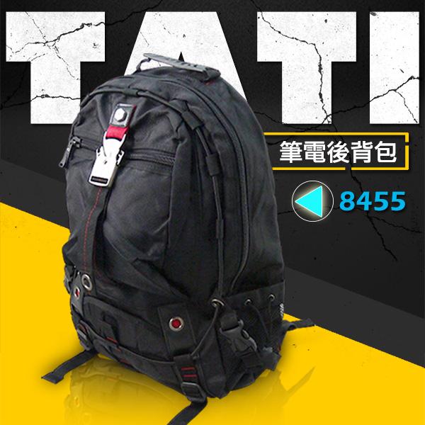 【加賀皮件】TaTi*符合人體工學 多功能休閒/運動/電腦後背包/書包 【8455】