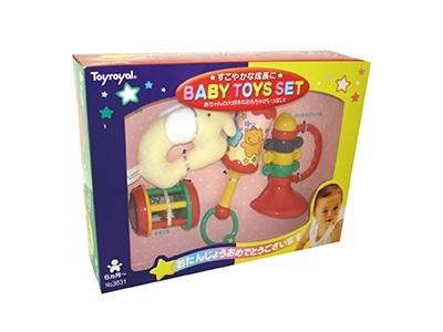 日本【ToyRoyal 樂雅】新玩具搖鈴禮盒(小)