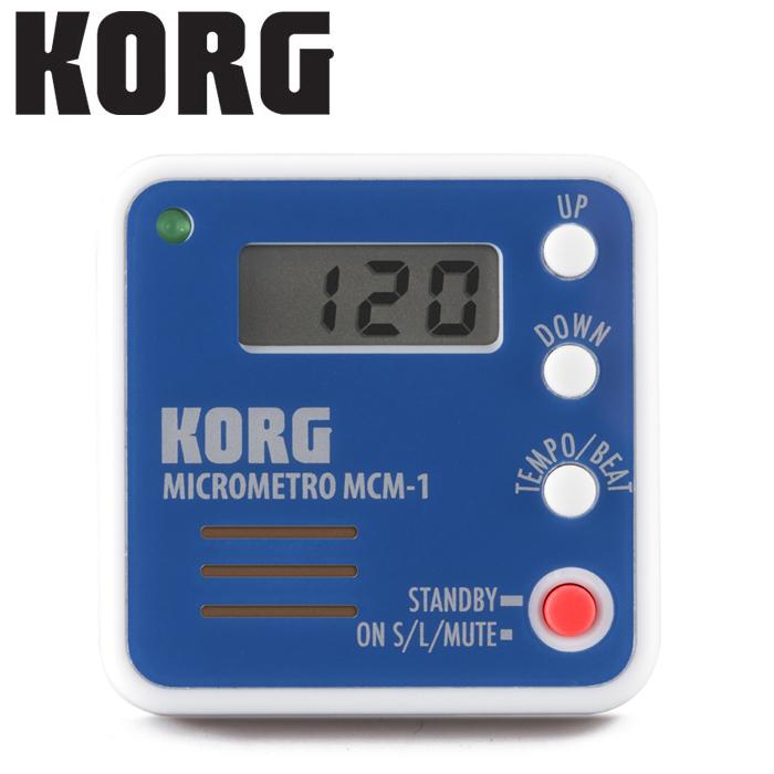 【非凡樂器】KORG microMETRO MCM-1 口袋型夾式節拍器【藍色】