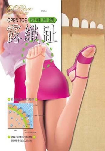 【蒂巴蕾】涼鞋 透膚 絲襪 露纖趾 露趾 多色可選(12入組)(多色可選)