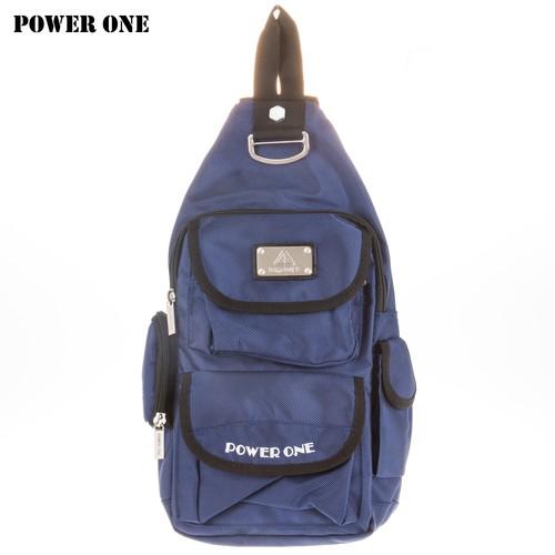 【POWER ONE】耐用型單肩側/斜後背包