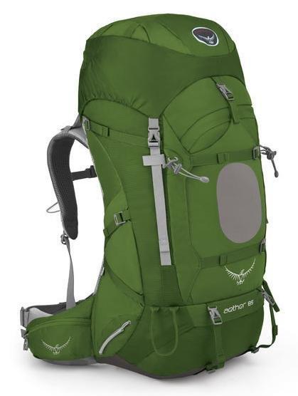 【鄉野情戶外專業】 Osprey  美國  Aether 85 登山背包 男款-盆栽綠M Aether85