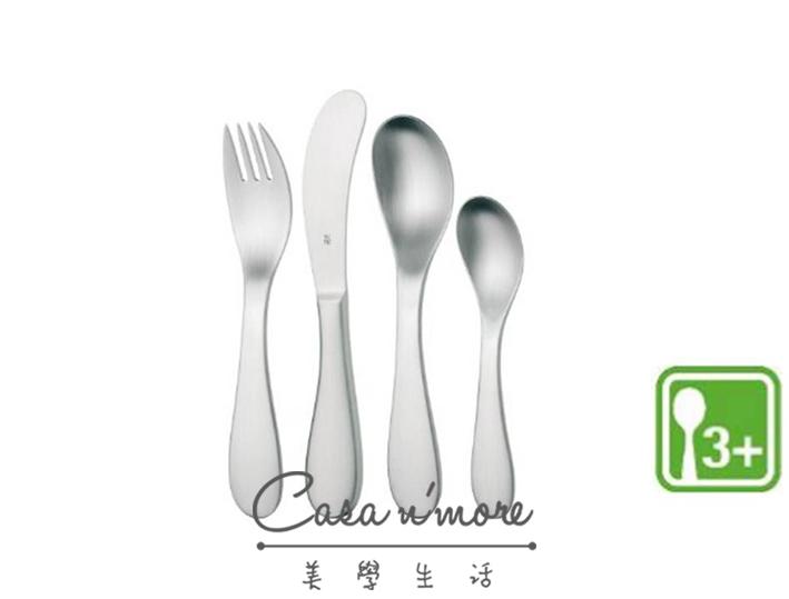 WMF Knuddel 兒童餐具四件組 學習餐具 3歲以上小孩適用