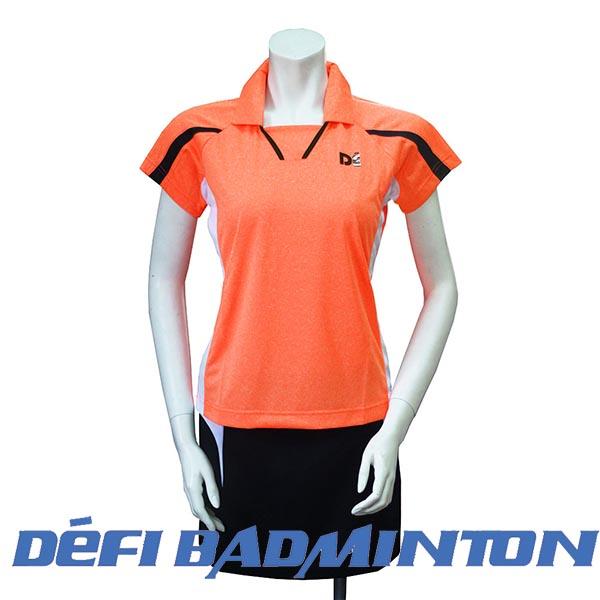 【DEFI 】FEA-K6 女款POLO衫 ( 亮(橘色)