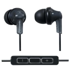 志達電子 Panasonic RP-HJC120 耳道式耳機 附mic 調音 手機 麥克風 線控 iPhone 4G iPod iPad