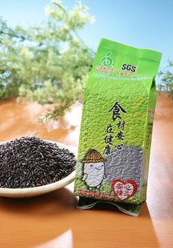 【安心糧品】黑米 Black glutinous rice (500g/包)