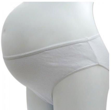 *漂亮小媽咪*月子必備 麗子 棉質免洗褲 產婦型 孕婦免洗內褲 5入 RK003