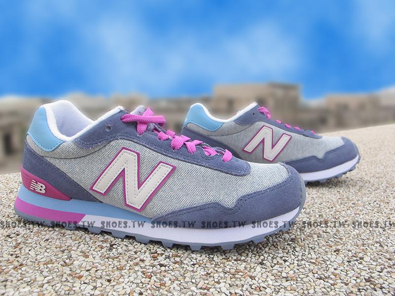 Shoestw【WL515AHA】NEW BALANCE NB515 復古慢跑鞋 藍紫 女生尺寸