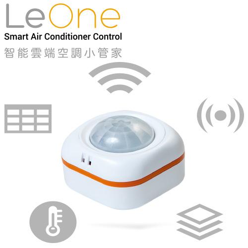 買就送 Double A 70P A4 影印紙一箱【JiiOrbit】LeOne 智能雲端空調小管家/冷氣遠端操作/溫度溼度感應器