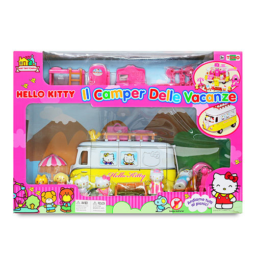 【Hello Kitty】KT 家庭露營車 KT18001