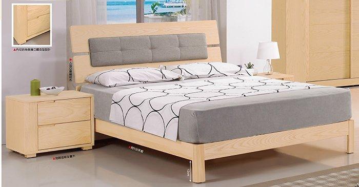 【尚品家具】JF-028-4 丹特6尺栓木雙人床頭片(不含床架)