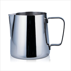 不銹鋼拉花杯- 寶馬牌鋼杯 (350ml)-【良鎂咖啡精品館】