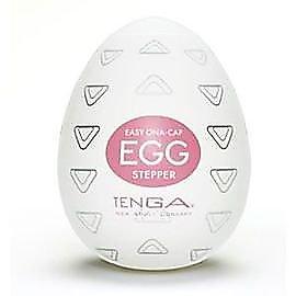 日本 Tenga 自慰蛋5號 Stepper 倒三角突起型構造 旋渦型挺趣蛋 EGG-005 自慰套 情趣用品 按摩棒 名器 跳蛋
