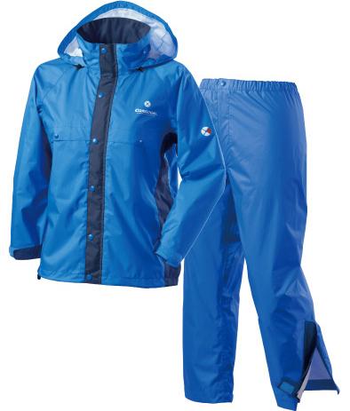 Caravan 兒童雨衣/小朋友雨衣/登山雨衣雨褲套裝組 AirRefineLite Jr 0100902 660 藍