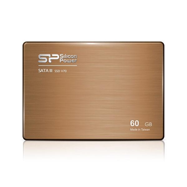 [nova成功3C]廣穎 SiliconPower Velox V70 60GB 2.5吋 SATA3 SSD 固態硬碟