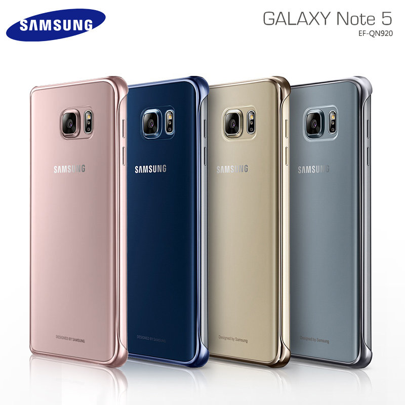 SAMSUNG GALAXY NOTE 5 N9208 原廠透明薄型背蓋/保護殼/原廠保護殼/原廠保護套/硬式保護殼