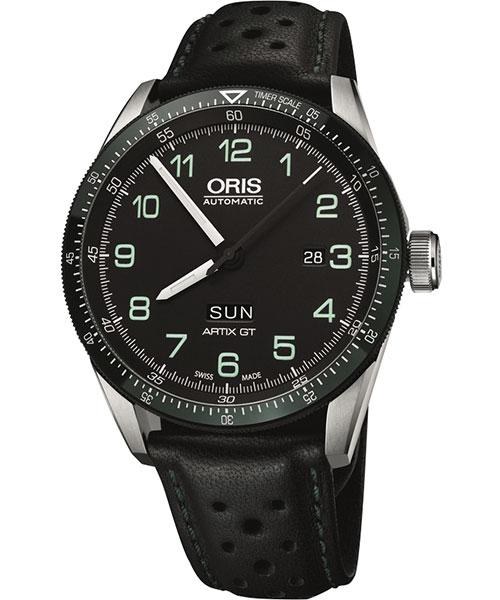ORIS 豪利時 0173577064494-SetLS Calobra日曆星期限量表II機械腕錶/黑面44mm