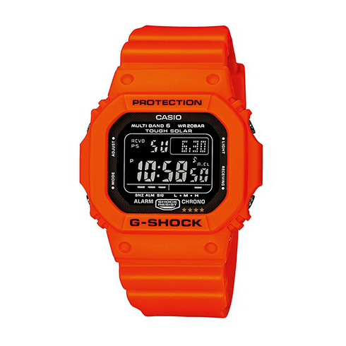 CASIO G-SHOCK GW-M5610MR-4太陽能六局電波腕錶/黑面46*43mm