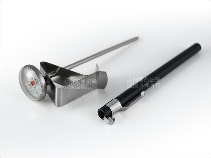 快樂屋? 《日本寶馬牌》304#不鏽鋼筆套式攜帶型溫度計0~220度 適咖啡手沖壺.泡茶.料理/TA-TM-220