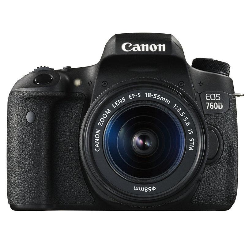 ◎相機專家◎ Canon EOS 760D KIT 含18-55mm 登錄送好禮 彩虹公司貨