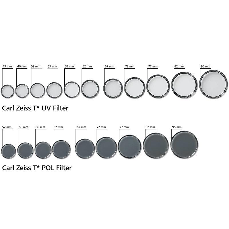 ◎相機專家◎ Carl Zeiss 蔡司 T* 55mm UV 保護鏡