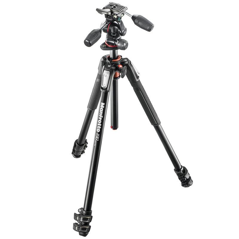 ◎相機專家◎ Manfrotto MK190XPRO3-3W 鎂鋁合金三腳架套組(MHXPRO-3W) 送190腳架袋 正成公司貨